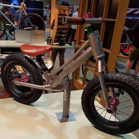 Mosaic custom balance bike.