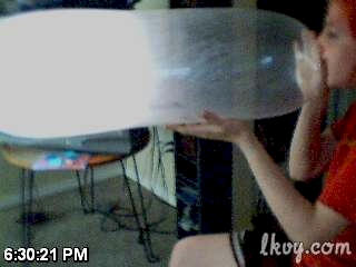 InflatedCondomWebcam