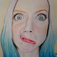 Self Portrait in colour 2018