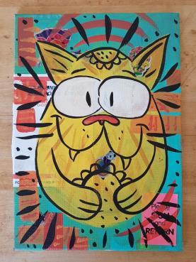Postal kitty.